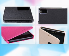 کیف محافظ نیلکین Nillkin Sparkle Leather Case Huawei P8