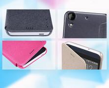 کیف محافظ نیلکین Nillkin Sparkle Leather Case HTC Desire 530
