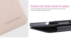 کیف محافظ نیلکین Nillkin Sparkle Leather Case Samsung Galaxy E7