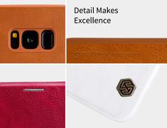 کیف محافظ نیلکین Nillkin Qin Leather Case Samsung Galaxy S8