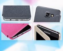 کیف محافظ نیلکین Nillkin Sparkle Leather Case Samsung Galaxy A7 2016