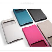 کیف محافظ نیلکین Nillkin Sparkle Leather Case Sony Xperia Z2