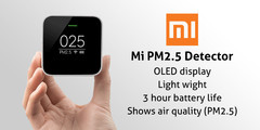 دستگاه تشخیص آلودگی هوای شیائومی مدل PM2.5