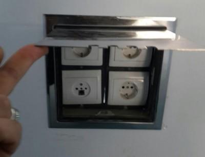 باکس استیل مخصوص کلید و پریز
