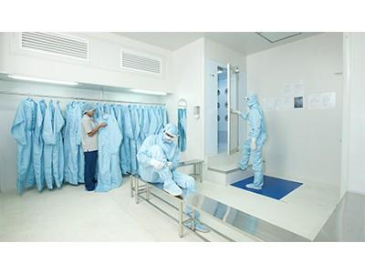 اتاق های تعويض لباس در اتاق تمیز