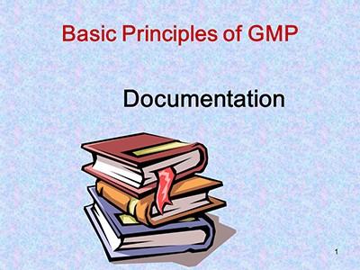اصول عمومی GMP