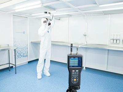آزمایش و نظارت بر اتاق تمیز