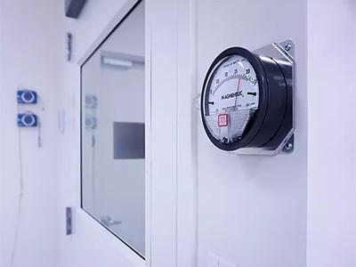اندازه گیری مقادیر هوا و اختلاف فشار در اتاق تمیز