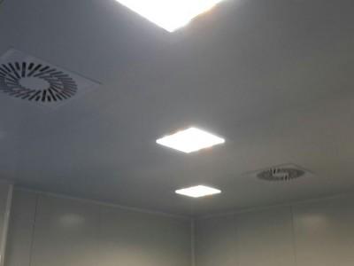 تحت فشار کردن اتاق و کنترل حرکت هوا در بین اتاق ها در اتاق تمیز