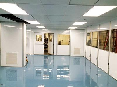 انتخاب هایی جهت طراحی انواع کف اتاق تمیز