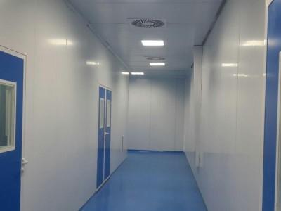 حرکت هوا در یک اتاق تمیز دارای جریان متلاطم