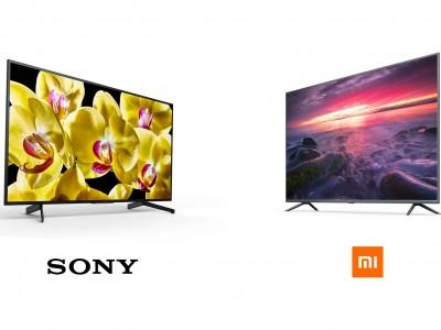 """مقایسه ی بین تلویزیون سونی KD-55X8000G و شیائومی Mi TV 4s""""55، انتخاب بین خوب و بهتر!"""