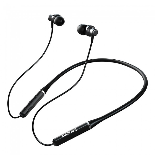 هدفون بی سیم لنوو مدل Neckband Headphone HE05