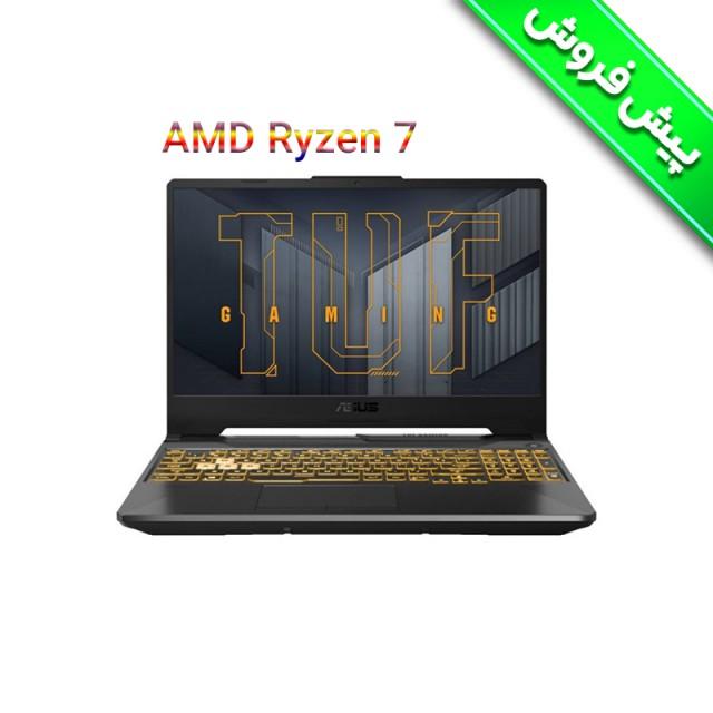 لپ تاپ گیمینگ ایسوس  ASUS TUF A15 FA506QM R7 5800H RTX3060
