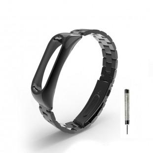 بند فلزی Bead 3 مناسب مچ بند هوشمند شیائومی مدل Mi band 2