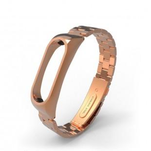 بند فلزی Rolex مناسب مچ بند هوشمند شیائومی مدل Mi band 2