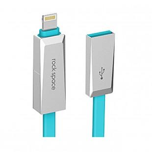 کابل تبدیل USB به لایتنینگ راک اسپیس مدل Blade
