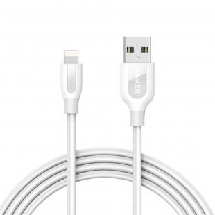 کابل تبدیل USB به لایتنینگ انکر مدل A8122 PowerLine Plus به طول 1.8 متر