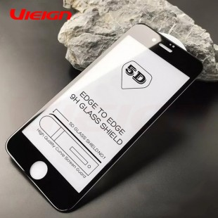 محافظ فول چسب صفحه نمایشگر آیفون 7 پلاس و 8 پلاس مدل Tempered Full Cover Glass