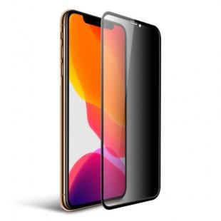 محافظ فول چسب صفحه نمایشگر آیفون Xs Max و آیفون 11 پرو مکس مدل Tempered Full Cover Glass