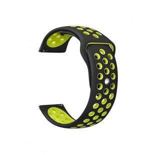 بند سیلیکونی طرح نایک ساعت سامسونگ مناسب برای Gear S2 Frontier/Galaxy Watch 42mm