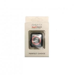 کاور به همراه محافظ صفحه اپلواچ مناسب برای سایز 42mm و 38mm
