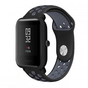 بند سیلیکونی طرح نایک مناسب برای ساعت هوشمند شیائومی مدل AmazFit Bip