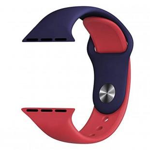 بند اپل واچ مدل Double Silicon مناسب سری 1 تا 5