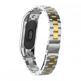 بند فلزی Bead 3 مناسب مچ بند هوشمند شیائومی مدل Miband 3 و Miband 4