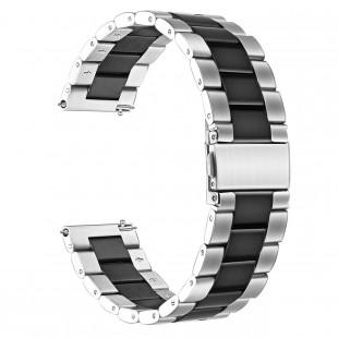 بند فلزی BEAD 3 Double Color ساعت سامسونگ مناسب برای Gear S3/Galaxy Watch 46mm
