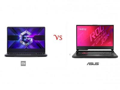 مقایسه تخصصی لپ تاپ گیمینگ شیائومی Redmi G با لپتاپ ایسوس ROG Strix G512LI