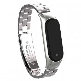 بند فلزی Bead 3 مناسب برای مچ بند هوشمند شیائومی مدل 5 Miband