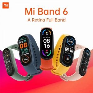 مچ بند هوشمند شیائومی مدل Mi Band 6 ورژن  گلوبال