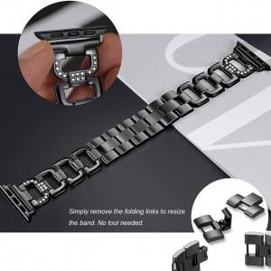 بند فلزی اپلواچ مدل کارتیر مناسب برای سایز 42/44/38/40 میلی متری
