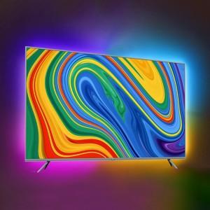 """تلویزیون هوشمند شیائومی """"Mi LED TV 4S 65 گلوبال مدل L65M5-5ASP به همراه نورپردازی ریسه ای Yeelight 1S RGB"""