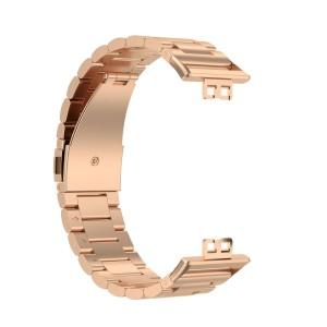 بند فلزی مدل Bead 3 مناسب برای ساعت هوشمند هوآوی Watch Fit