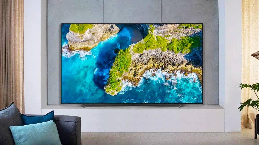 صفحه نمایش تلویزیون 55 اینچ ال جی مدل CX