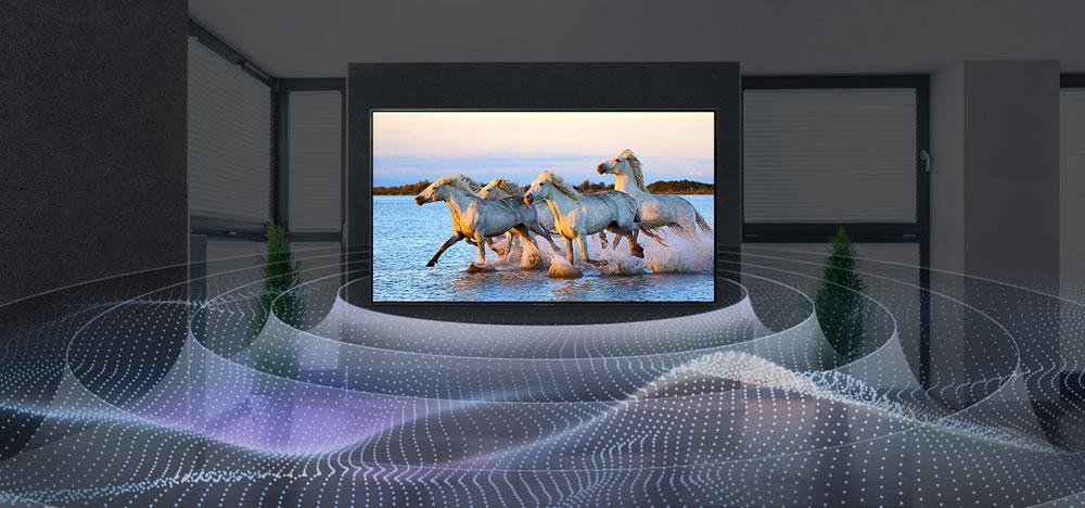 سیستم صوتی تلویزیون 55 اینچ ال جی مدل CX