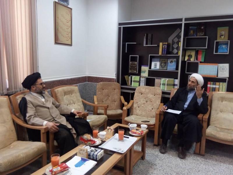 بازدید حجت الاسلام والمسلمین سید کمال حسینی ریاست محترم مجتمع عالی نمایندگی گرگان
