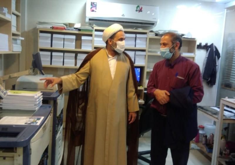 بازدید مدیر کل دفتر ریاست جناب آقای مرتضی محمدعلی نژاد شانی در مرکز نشر