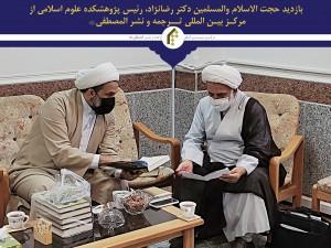 بازديد حجت الاسلام و المسلمين دکتر رضانژاد