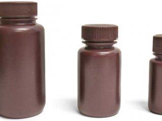 بطری پودری درپیچدار رنگی 250 pp