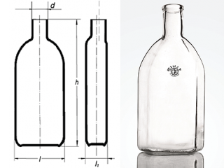 بطری تخت کشت سلول 1000 K