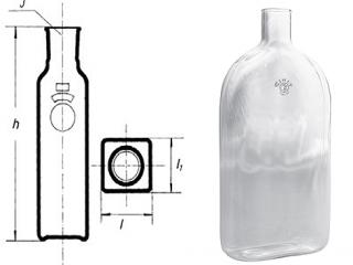 بطری محیط کشت سلولی  (کفتری) 1200