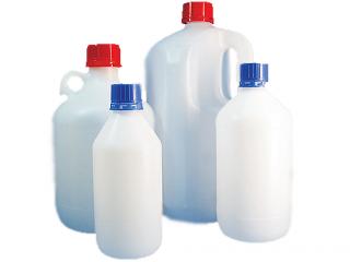 بطری پلاستیکی مدور درپیچدار برای مایعات650 pp