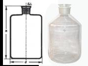 باریل شیشه ای بدون شیر بروسیلیکات 5000