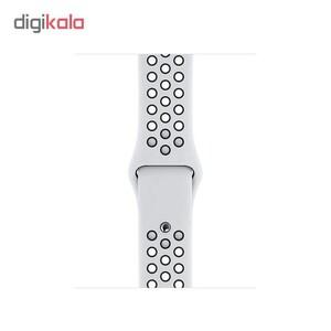 ساعت هوشمند اپل واچ سری 5 مدل 44mm Aluminum Case With Nike Sport Band