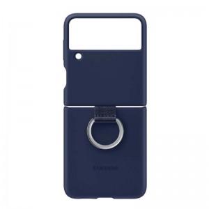 کاور مدل silicone Cover with Ring مناسب برای گوشی موبایل سامسونگ Galaxy Z Flip3 5G