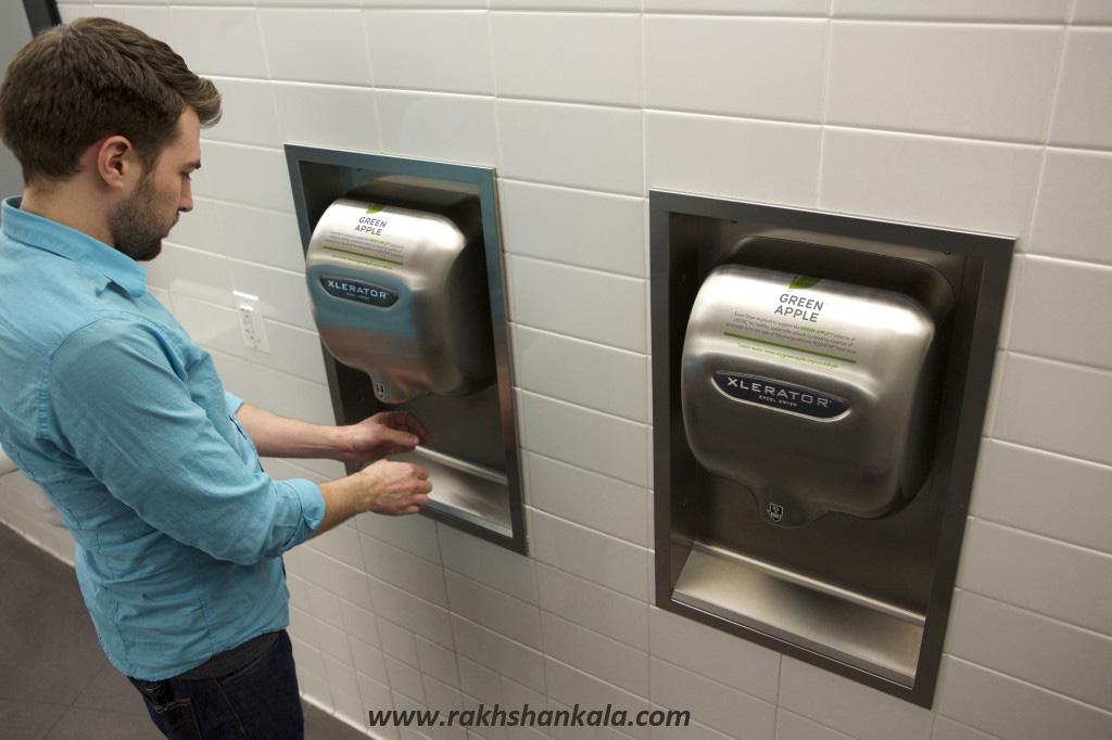 مزایای استفاده از دست خشک کن | انواع دست خشک کن