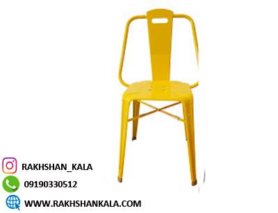 صندلی ناهارخوری ساده فلزی مدل نوید